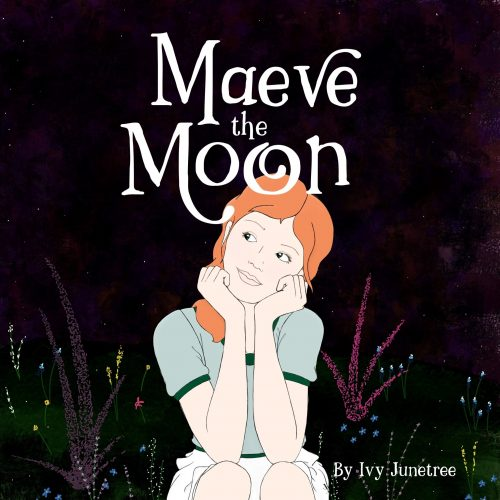 maeve the moon kindle picture book cover